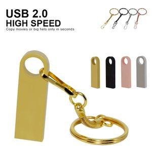 Key Mini USB flash Drive 512mb 64GB 32GB 16GB 8GB 4GB Metal Pen Drive Pendrive Memory Cle Stick