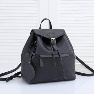Мода роскошный дизайнер рюкзаки женские сумки с тиснением цветов рюкзак стиль натуральные кожаные пакеты школьные сумки классические мини студент