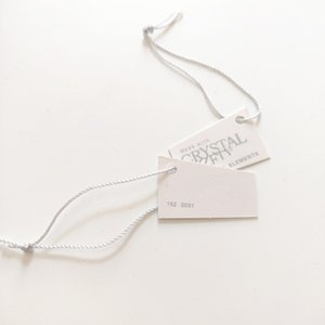 Austrian Crystal Tag Fit For Swa Elements Jewelry Made to Produce