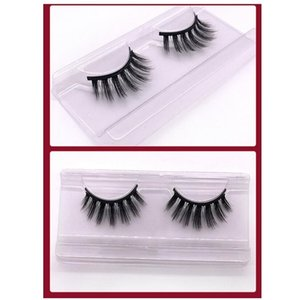 1 Pairs 3D pair of natural thick magnet eyelashes Eye makeup Mink False lashes Soft Fake Extension Beauty Tools 12 styles