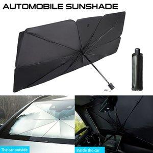 Автоковерты интерьер автомобиль Parasol автомобиль крышка лобового стекла УФ защита от солнцезащитного оттенка Переднее окна защита интерьера складной зонт