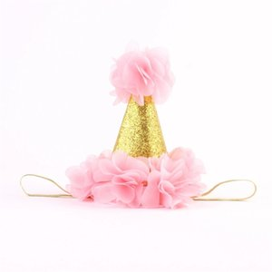 아기 꽃 크라운 머리띠 소녀 골드 크라운 헤어 밴드 키즈 헤어 액세서리 공주 생일 파티 헤드 밴드 사진 소품 589 K2