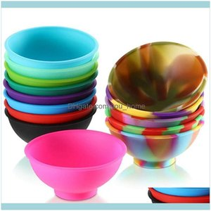 Dinnerware Kitchen, Dining Bar Home & Gardenmini Sile Soft Flexible Baby Feeding Bowl Prep Serve For Connts Dips Snacks Diy Crafts Bowls Iia