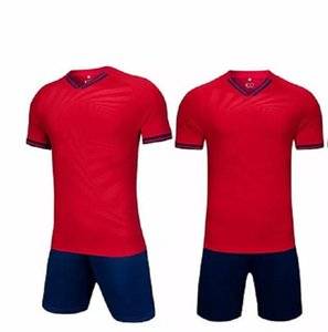 2021 Soccer Sets smooth Royal Blue football sweat absorbing and breathable children's training suit 0 0073