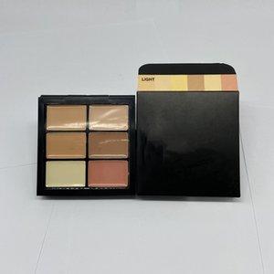 6 farben professionelle gesicht kontur make-up concealer palette fundament aufheller bilden volle abdeckung frau kosmetik