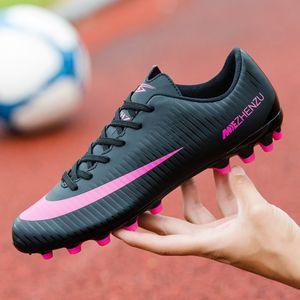 Adult Sports Boys 'Cola Longa Prego Futebol Feminino Treinamento ao ar livre Sapatos Iwue