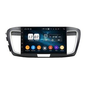 "4GB + 128GB 10.1 ""PX6 안드로이드 10 자동차 DVD 플레이어 DSP 라디오 GPS 네비게이션 Honda Accord 9 2015 2016 2017 Bluetooth 5.0 WiFi Easy Connect"