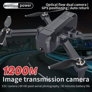 Kf607 Gps Drone With Wifi Fpv 4k 5g Hd Dual Wide Angle Camera Foldable Rc Drone Charging 180 minutes Flight 22 minutes