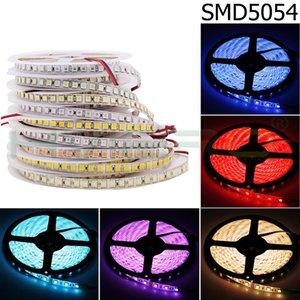 DC12V LED Strip 5054 Waterproof Flexible Light Ribbon 120LEDs m Brighter than 5050 3528 12V RGB Diode Tape 5m lot