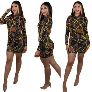Women's Tracksuits Collection Retro Ethnic Summer Short-Sleeved T-Shirt And Skirt Arbitrary Match The Chic Two-Piece Womens Dress