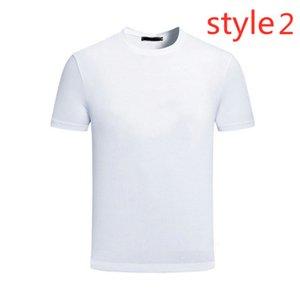 Italienische Männer Kurzarm Solide Farbe Gedruckt Herren Sommer Runde Kragen Casual Business T-Shirt Herrenmode Top
