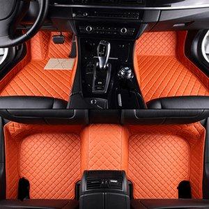 Tapis de sol de voiture personnalisé pour accessoires Ssangyong Rexton