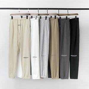 Feel of God multi thread essentials reflective drawstring Leggings casual fog High Street long pants men