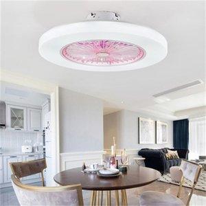 dimming fan lamp chandelier lighting minimalist restaurant lying ceiling Pendant Lights dhl modern Bedroom living room light