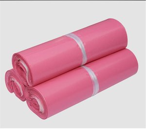 100pcs lot Pink Poly Mailer 10*13 inches Express Bag 25*35cm Mail Bags Envelope  Self Adhesive Seal Plastic bags pouch