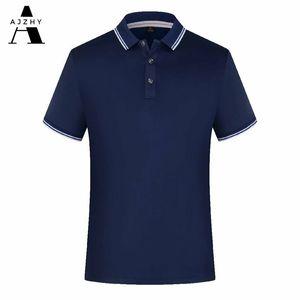 Poloshirt Männer Casual Sommer Solide Farbe Kurzarm Poloshirt Atmungsaktive Trikots Golf Tennis Marken Männer Polo Shirts Plus Größe 210319