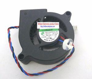 Original GB1205PKV4-AY R DC12V 1.3W 0.6W 0,7W 0,7w 3Les Signal d'alarme pour les ventilateurs de ventilateur de refroidissement du projecteur