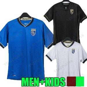 2021 2022 Kosovo Soccer Jerseys Accueil Milot Rashica Arbër Zeneli Vedat Muriqi Amir Rrahmani 21 22 Kosova Camiseta Fédération de football des chemises de football du Kosovo