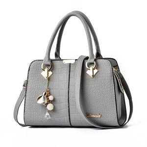 HBP Alligator Handbags Purses Women PATCHWORK Bags Crossbody PU Leather Black Soft Washed Messenger handbag purse gray bags