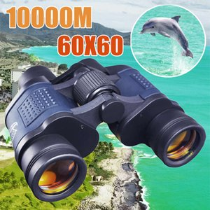 Telescope 60X60 HD Binoculars High Clarity 10000M Power For Outdoor Hunting Optical Lll Night Vision binocular Fixed Zoom
