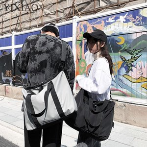 Duffel Bags YIXIAO Large Capacity Fashion Travel Bag For Men Women Sports Gym Fitness Luggage Handbag Unisex Outdoor Shopping Shoulder