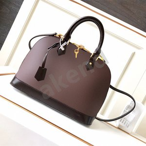 Top quality Leather Shoulder Bags ALMA handle handbag tote nylon Handbags Bestselling Designer Luxury wallet women Crossbody bag Hobo purses baguette