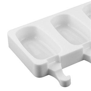 Silikon DIY Dondurucu Kolay Krem Mini Dondurma Bar Kalıp Seti Yapma Aracı Suyu Popsicle Kalıpları Çocuk Pop Lolly Tepsi Buz Küpü Maker 340 R2