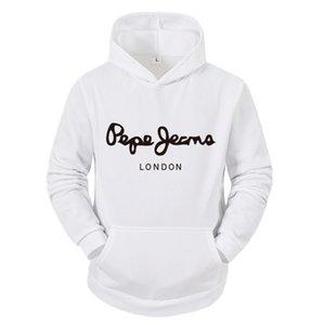Sweatshirts Printemps Et Streetwear Sweat-shirt Chaud Long Mouwen Pepe Marque Designer Sweat à capuche Mode Hommes herfst gagne