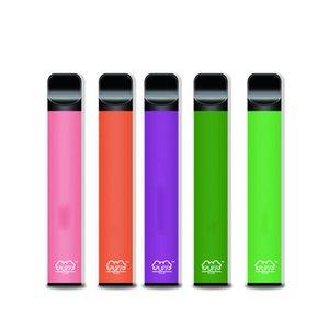 Puff Bar Plus 800 + BUFF PEN PEN PEN PEN PEN PEN 550MAH Batteria 3.2ml Pods Cartucce Pre-riempita E Cigs Edizione limitata Edizione Dispositivo di vaporizzatori