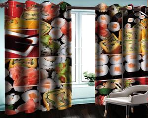 Занавес Drapes 3D летняя детская спальня откуда вкусный рисовой шар оптом для гостиной