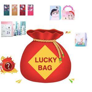 Lucky Bag Box Kid Pequeno Creative Notebook Manual Diário Diy Planejador Journal Size Student Gift FF6 Blogs