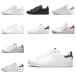 2021 сапоги женские мужчины модные туфли Stan Smith кроссовки кожи классические квартиры повседневная обувь Size36-45