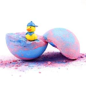 Pure Bath Bombs Salts Toys Inside Handmade Colorant Press Bubble Natural Vegan Organic Fizzy Baths Bomb For Kids