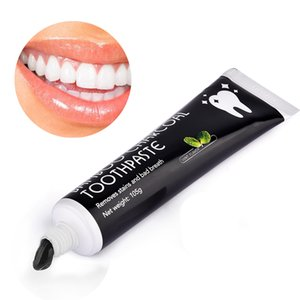 Teeth Whitening Tooth Care Bamboo Natural Activated Charcoal Black Toothpaste Oral Hygiene Dental Health