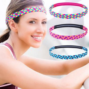 Yoga Hair Band 1 Piece For Running Women Sports Anti-slip Elastic Sweatband Fitness Gym Cycling Bands