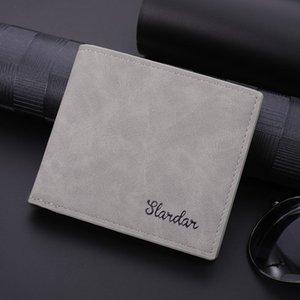 Men's Wallet Sense Short Clip Minority Design Card Sleeve Multi-layer Fashion Bagwallet