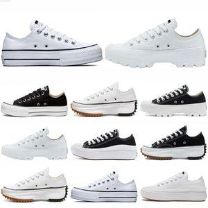 Classic Canvas womens casual Shoes Sneaker platform shoe Triple Black White High Low Mens Women Sport Sneakers Size 36-39