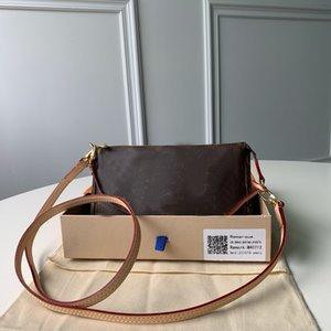 Mujeres Lujos Diseñadores Bolsas 2021 Crossbody Bolsa Classic Brown Marca Letra Cuero genuino Mini bolsos Bolsos Bolsos Handbags919 Hombro, D105
