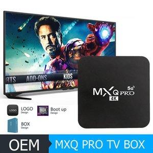 Android Smart TV BOX MXQ PRO 4K Android 9.0 TV BOX RK3229 Quad Core Network Player 2GB 16GB 4K HD 2.4&5G Wifi Set Top Box