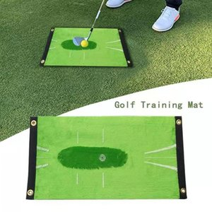 Velvet Golf Batting Mat Portable Golfing Cushion Outdoor Sports Training Aid Pad Aids