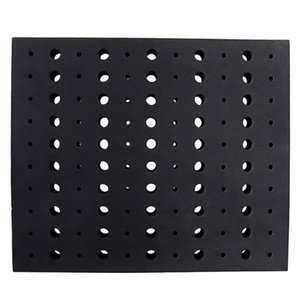 Save Space Multifunctional Garage Hard Foam Router Bit Tray Tools Storage Durable Milling Cutters Divider Workshop 110 Holes Tool Organizers
