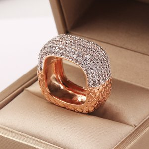 Vecalon Vintage Promise Anello 925 Sterling Silver Gioielli Pavy Diamond CZ Engagement Anelli da sposa per donna Bijou Bijou