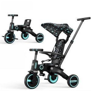 Children's Tricycle, Stroller, Artifact, Baby Foldable Lightweight Bicycle Strollers#