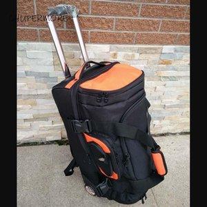 أكياس القماش الخشن chupermore السياحة حجم كبير السفر الرجال الأعمال أكسفورد المتداول الأمتعة حقيبة حقيبة عجلات 20 بوصة