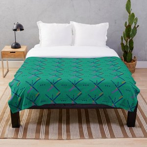 Blankets PDX Portland Airport Carpet Throw Blanket Bedding Sherpa Fleece Bed Sofa Cover Child Kids Adults Gift Bedspread