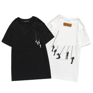 Мужские дизайнерские футболки мужские женщины хип-хоп тройники 3D печать ротвейлер стилист рубашка