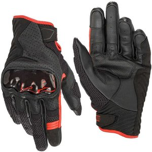 Alpine gp SMX-1 Air V2 Leather Textile Riding Gloves Rio Marc Motorcycle Racing