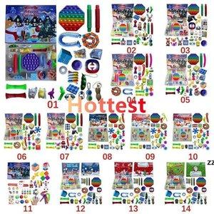 Christmas Fidget Toy Advent Calendar for Girls Boys Kids Adultos Sorpresa Alivio Alivio Contar la fiesta de vacaciones (personalizar)