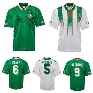 1994 Ирландия Ретро Футбол Джерси 1994 Кубок мира Ирландия Главная Классическая Джерси Винтаж Ирландский Таунсенд Коайн Стантон Хоутон Футбольные Рубашки