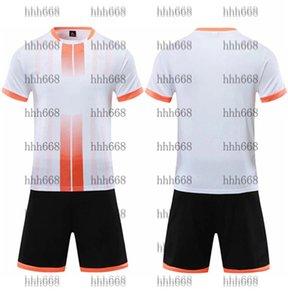 2021 010162 Chándal de fútbol Camino de manga corta Match Training Trail Team Jersey Número Logotipo Personalización 23